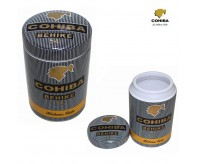 COHIBA Ceramic Cigar Humidor Jar With Cohiba Pattern