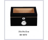 Cigar Humidor Storage Container Wood