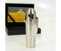 Gunmetal Silver COHIBA 3 Jet Torch Flame Cigar Cigarette Lighter Punch