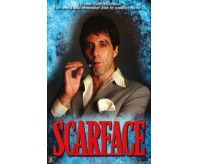 Scarface Movie (Pacino with Cigar, Name, Huge) Poster Print