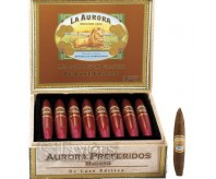 La Aurora Preferidos Ruby Tubes (Box of 8)