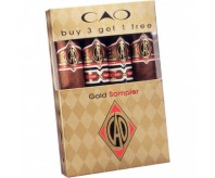 C.A.O. Gold 4 Cigar Sampler (Sealed Pack of 4)
