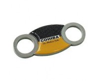 COHIBA AccuCut Heavy Duty Stainless Steel Guillotine Cigar Cutter
